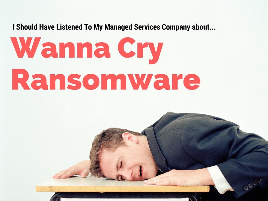 Wanna Cry Ransomware